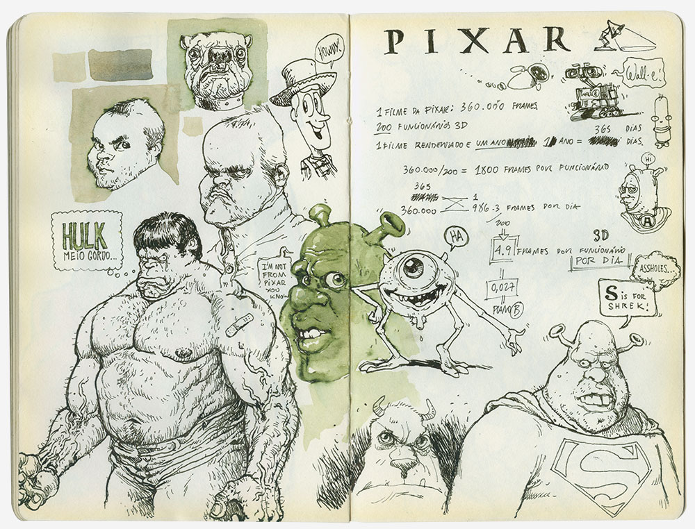 hulk-shrek-sketchbook-braga-2010