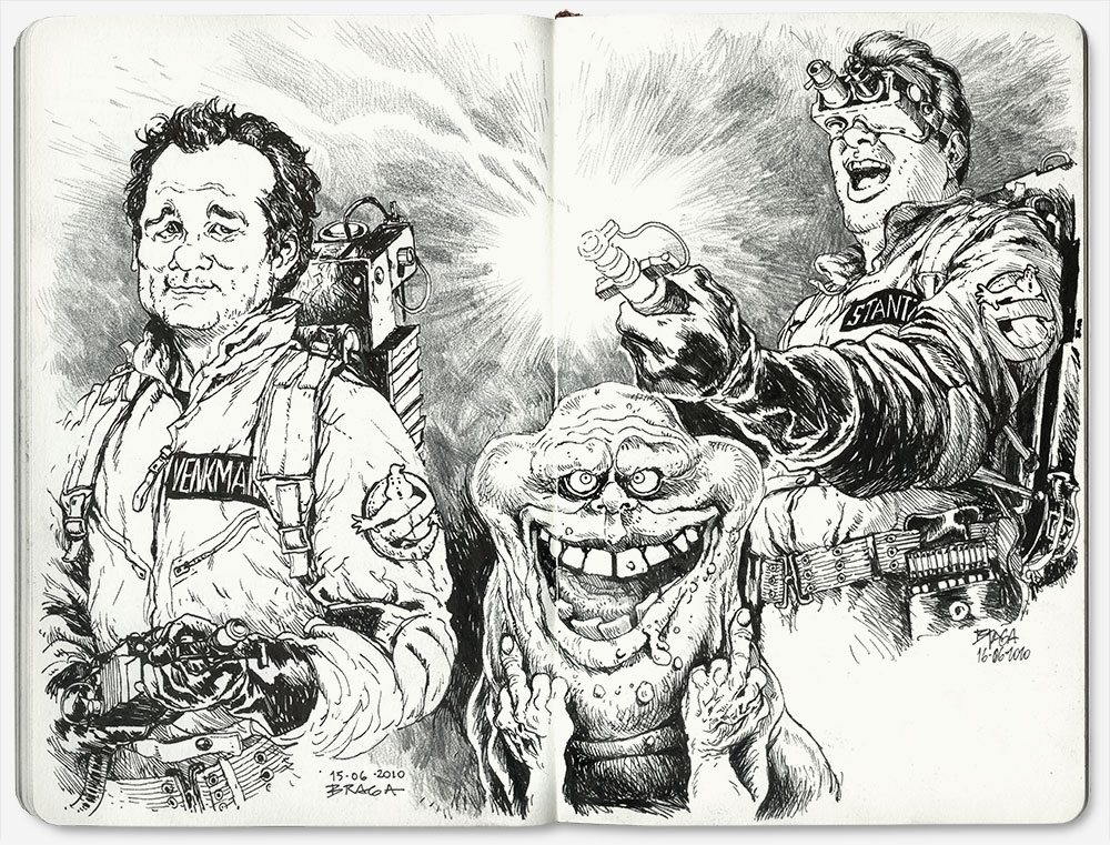 ghostbusters-diburros-sketchbook-braga