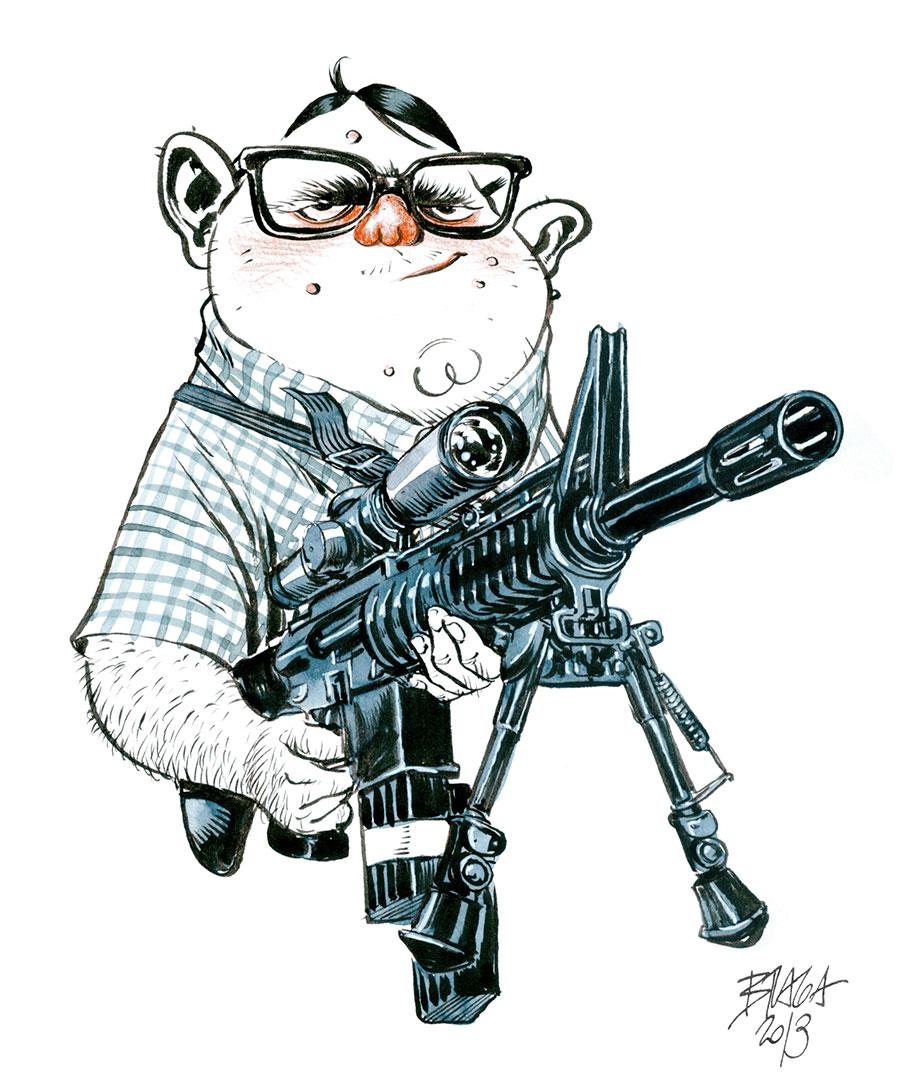 diburros-sketchbook-nerd-rifle